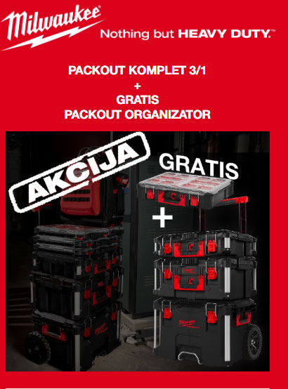 Newsleteer PACKOUT akcija